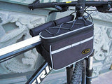 Mocase Bike Bicycle Multi-function Frame Top Tube Pannier Bag With Rainproof Cover For Mountain Road Bike