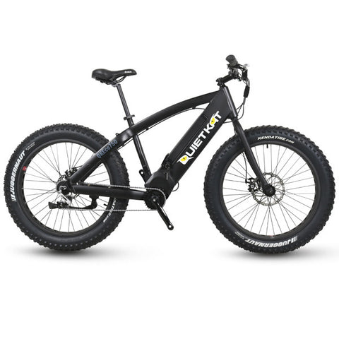 QuietKat FatKat Rover Fat Tire Hunting Electric Bike