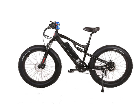 X-Treme 2018 Rocky Road 48 Volt Fat Tire Electric Mountain Bike