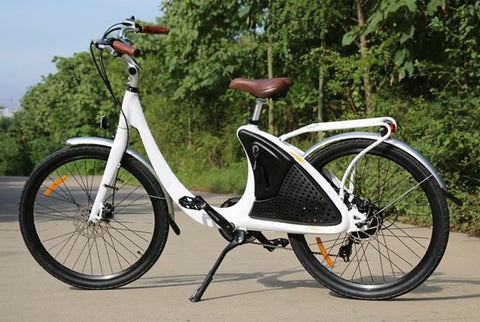 Phantom Bikes Swirl Step-Through Commuter Electric Bike