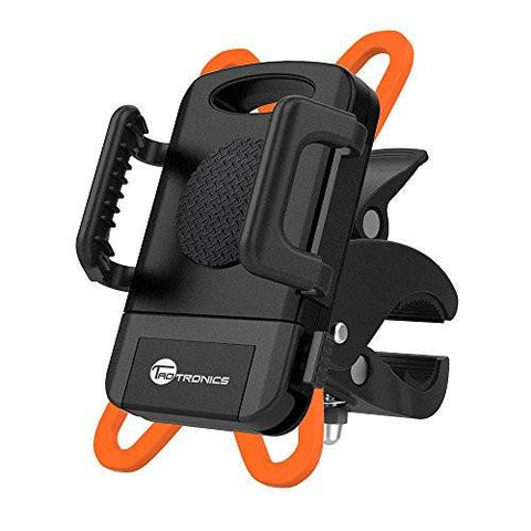Taotronics Bike Phone Mount Bicycle Holder, Universal Cradle Clamp For IOS Android Smartphone
