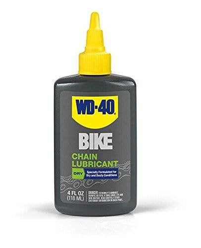 WD-40 Bike Dry Lube, 4-Ounce