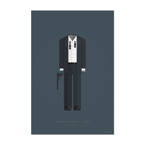 Casino Royale Movie TV Illustration Art Print