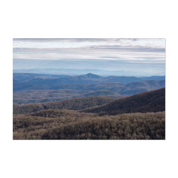 Appalachian Mountains Nature Art Print