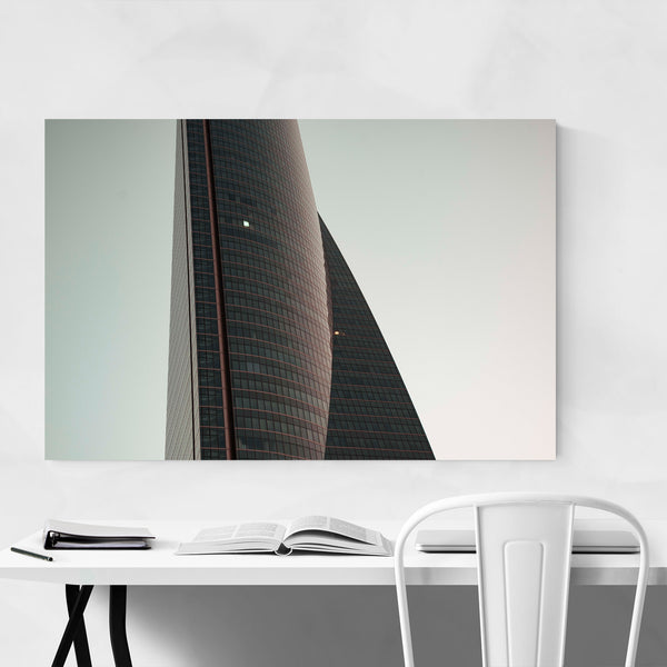 Madrid Cityscape Urban Spain Art Print