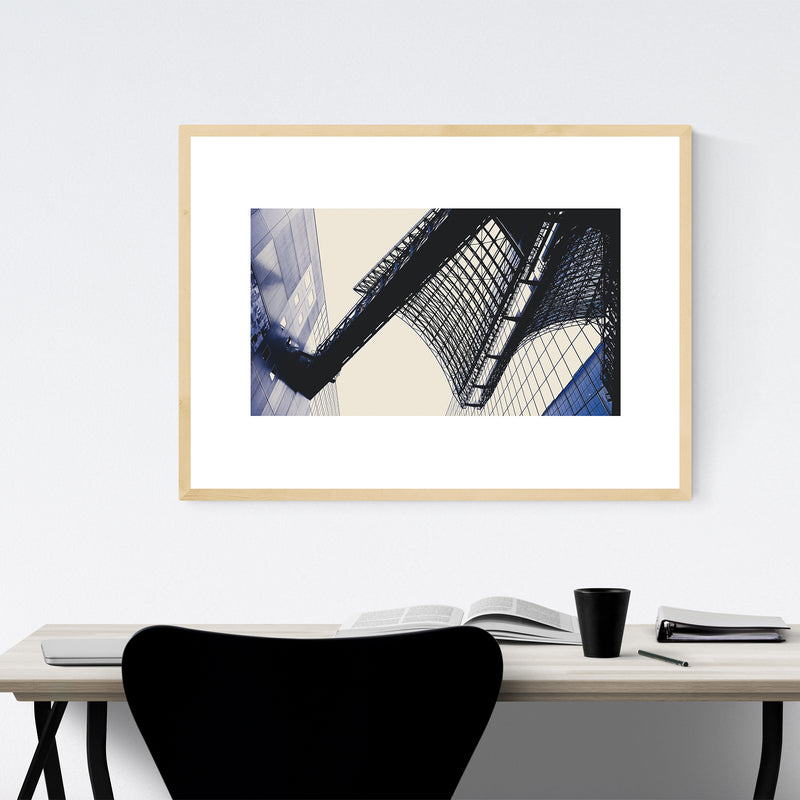 Kyoto Japan Abstract Photography Framed Art Print