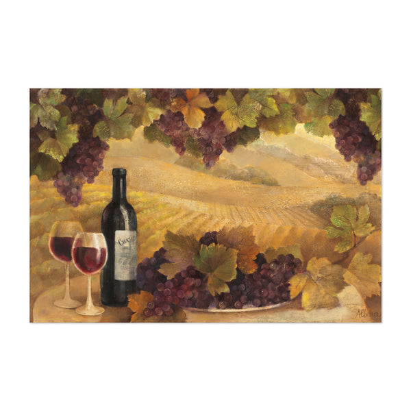Italy Fruit Autumn Alcohol Wine Art Print