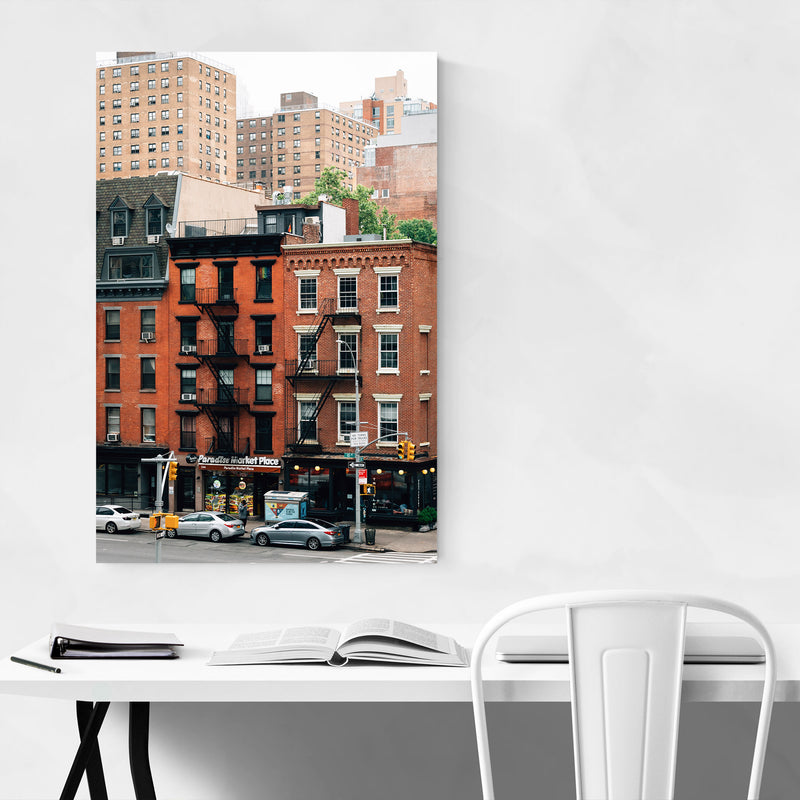 Chelsea Manhattan High Line NYC Metal Art Print