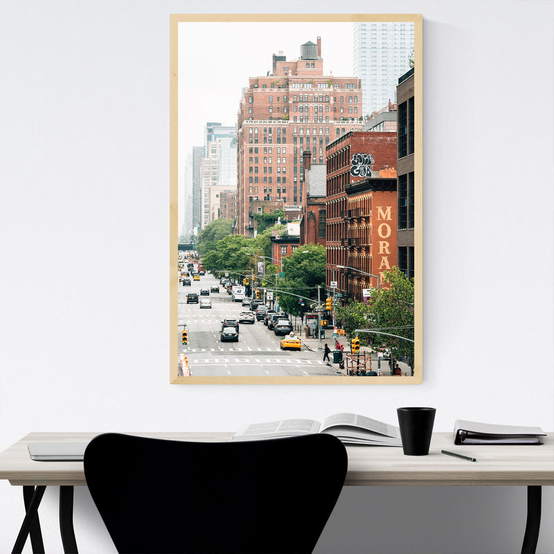 Chelsea Manhattan High Line NYC Framed Art Print