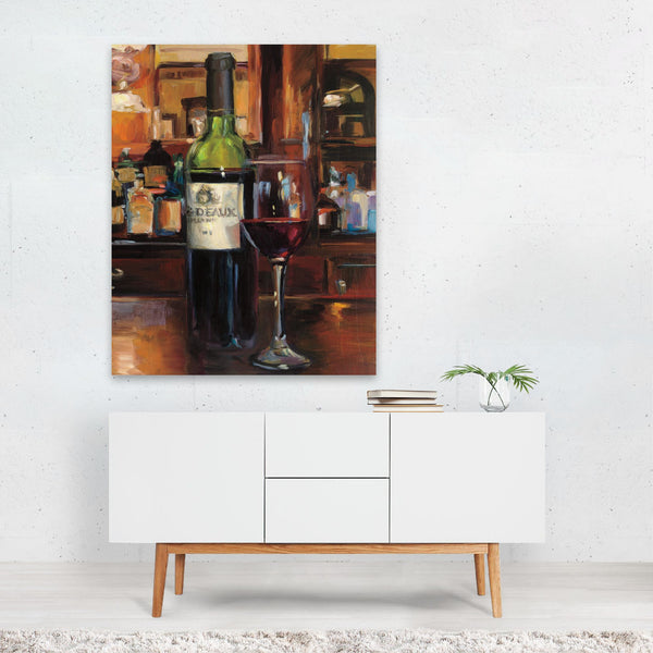 Kitchen Alcohol Wine Lime Illustration Art Print