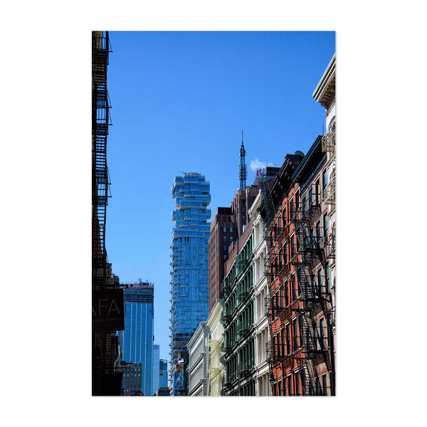 Leonard Street New York City Cityscape Art Print