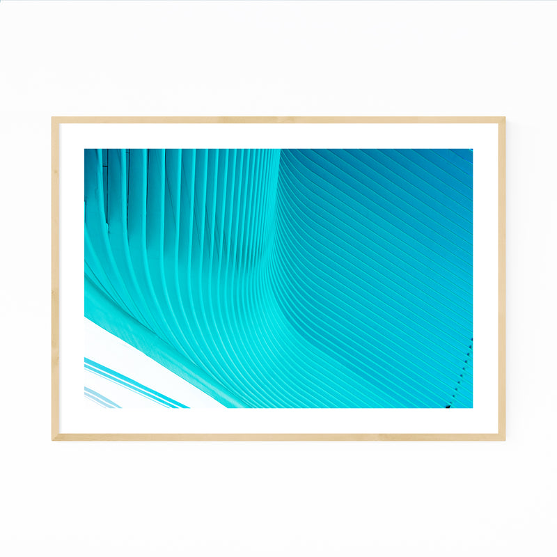 Oculus Modern Architecture New York Framed Art Print