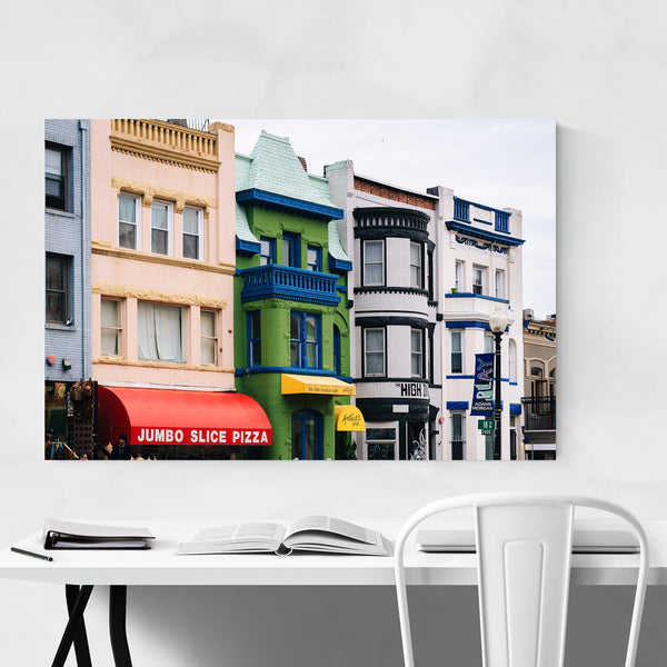Adams-Morgan Washington DC Art Print