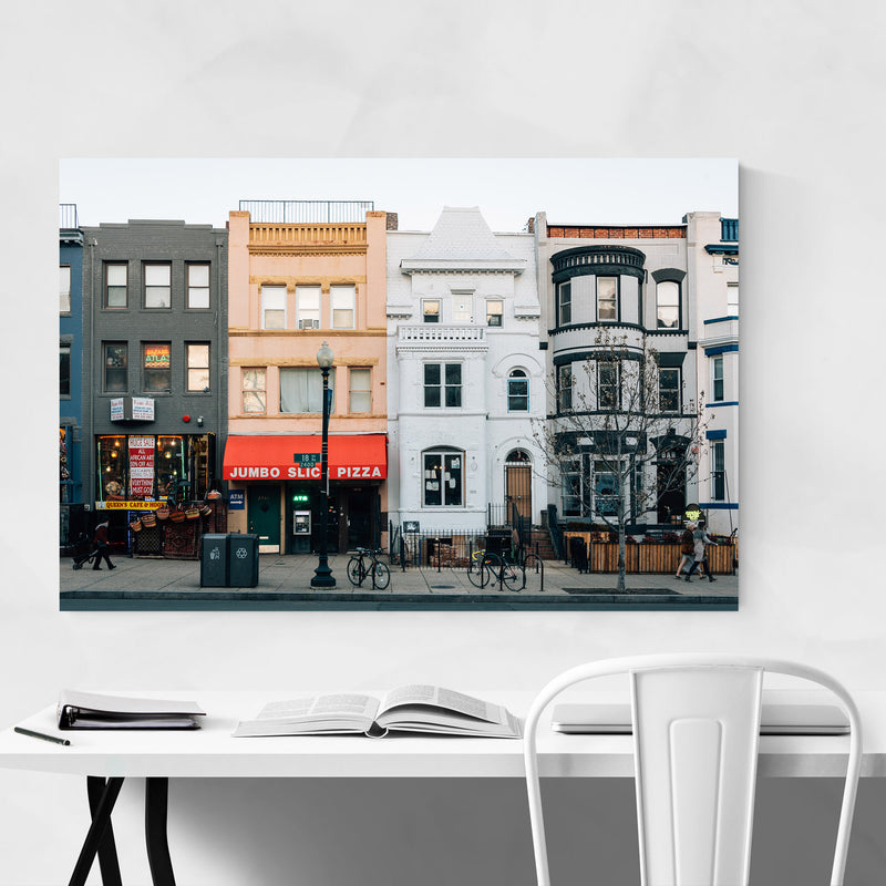 Adams Morgan Washington DC Canvas Art Print