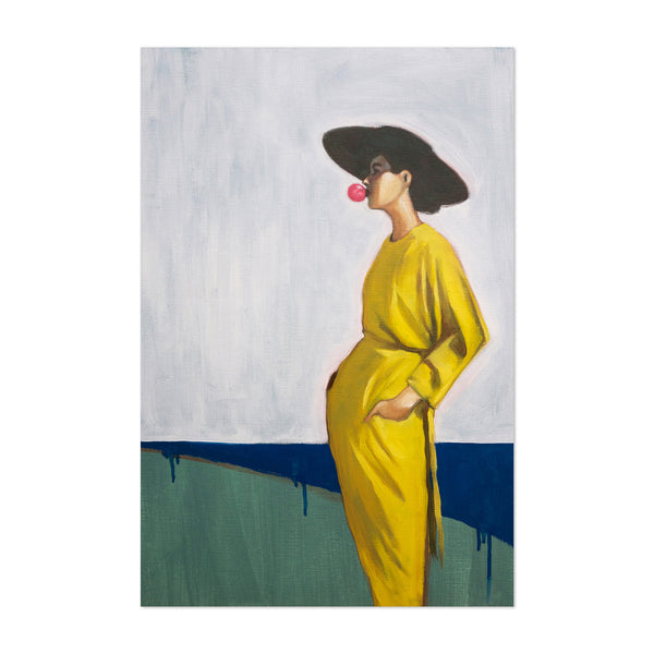 90's Fashion Feminine Figurative Art Print