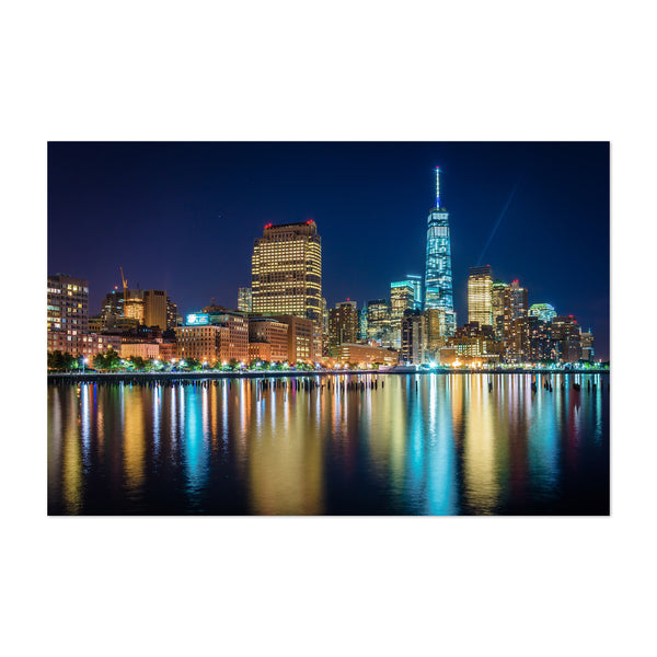 Lower Manhattan Skyline New York Art Print