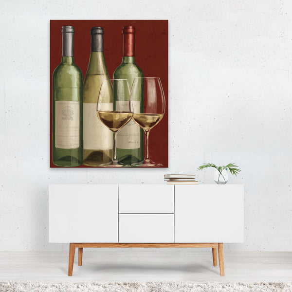 Paris France Alcohol Wine Bistro Art Print
