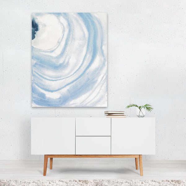 Abstract Pastels Circles Painting Art Print