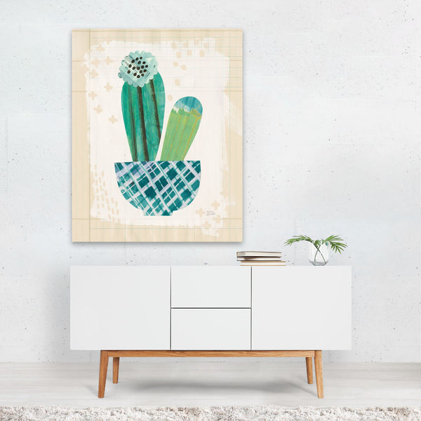 Floral Fashion Cactus Succulents Art Print