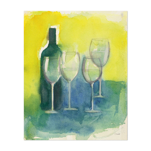 Kitchen Alcohol Wine Painting Art Print