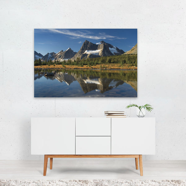 Jasper Canada Mountains Parks Autumn Art Print