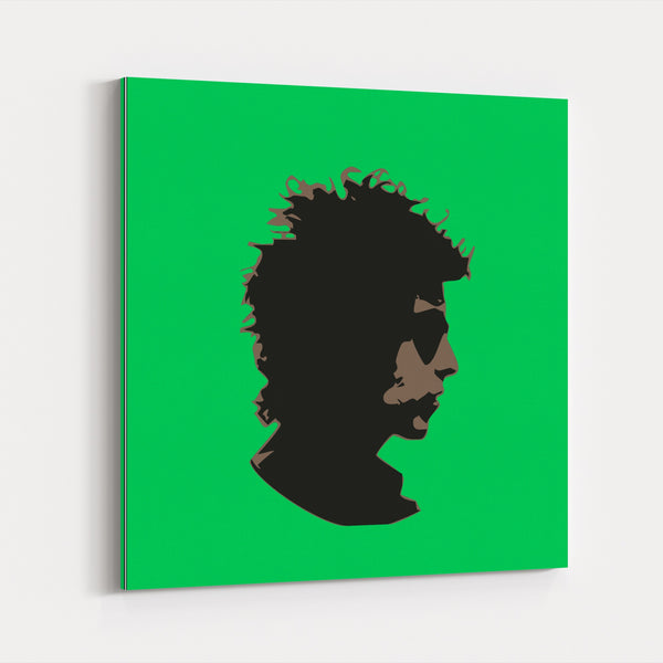 60s 70s Abstract America Bob Dylan Cool Canvas