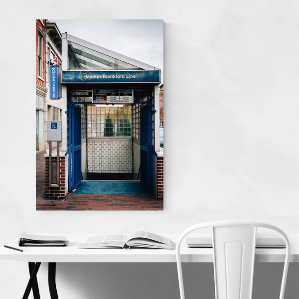 Old City Philadelphia Subway Art Print