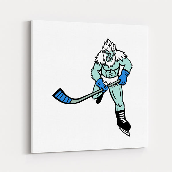Animals Cartoon Hockey Nature Reptiles Canvas