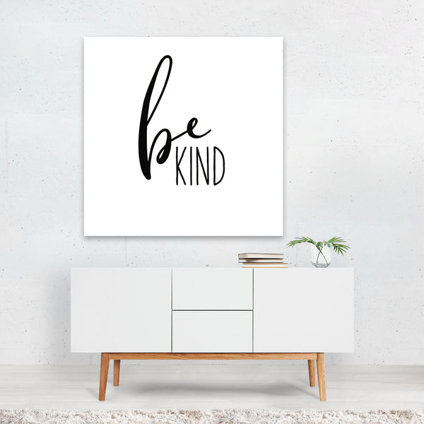 Black And White Inspirational Canvas