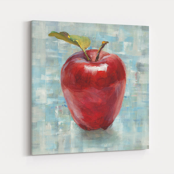Abstract Apple Food Drink Fruit Canvas