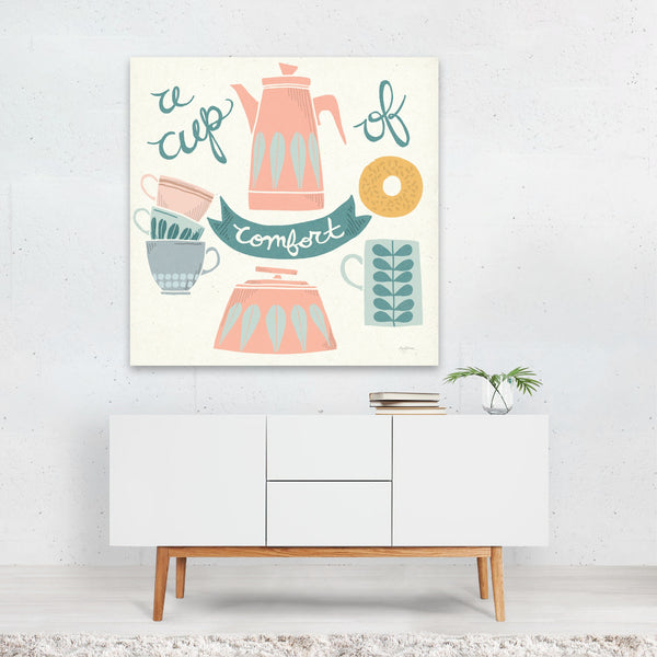 Baking Coffee Cooking Food Drink Canvas