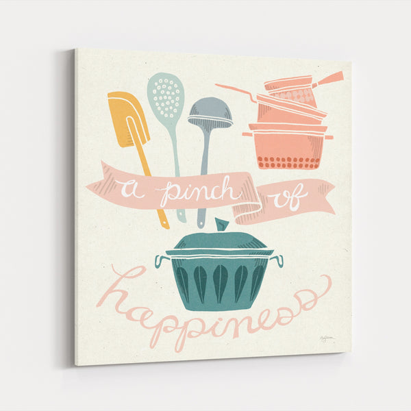 Baking Cooking Food Drink Happiness Canvas