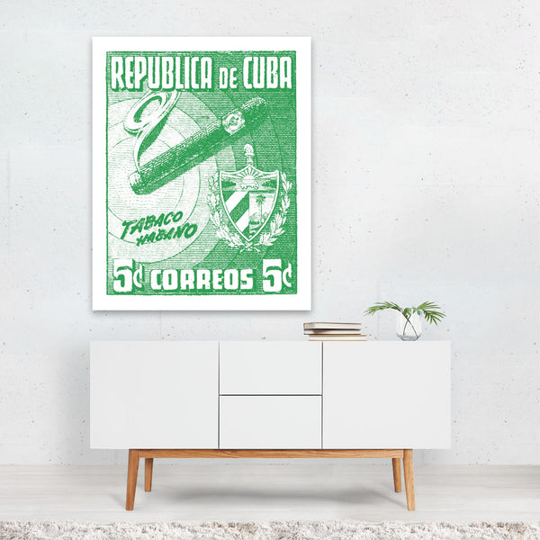 Cuba Transportation Illustration Art Print