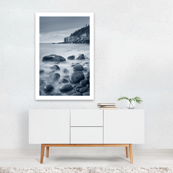 Acadia Maine Parks Beach Art Print