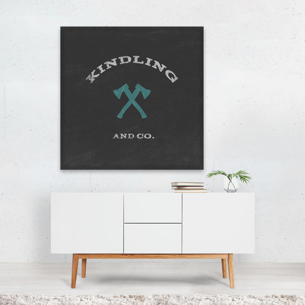 Houses Typography Cabin Life Xi Canvas