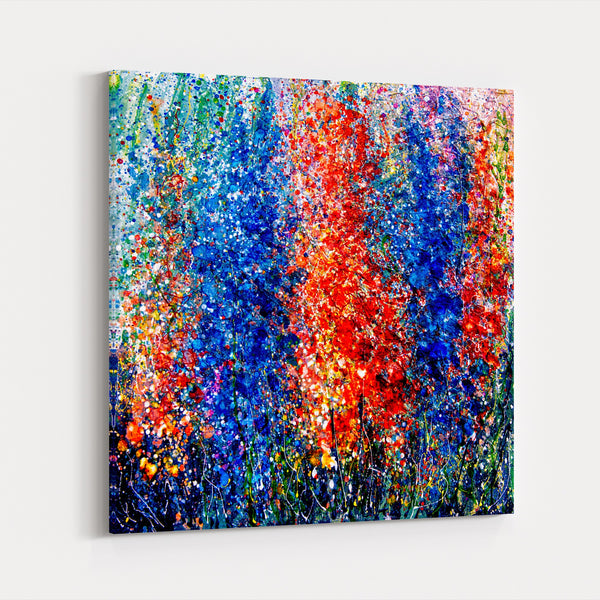 Abstract Floral Floral Botanical Canvas