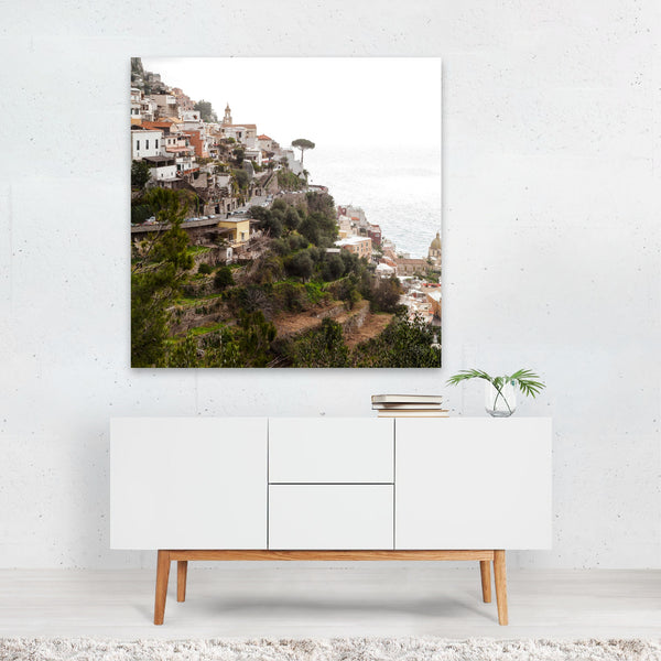 Amalfi Coast Italy Beach Coastal Canvas