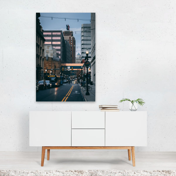 Harrisburg Pennsylvania Urban Photo Art Print