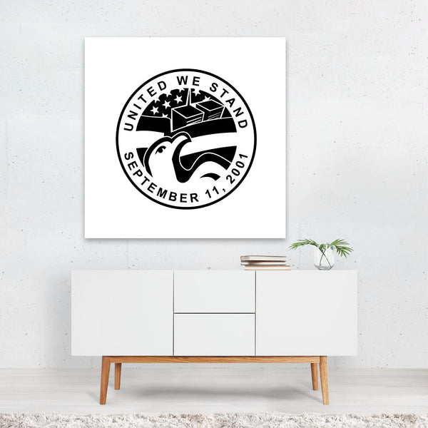 American Animals Building Circles Eagle Canvas