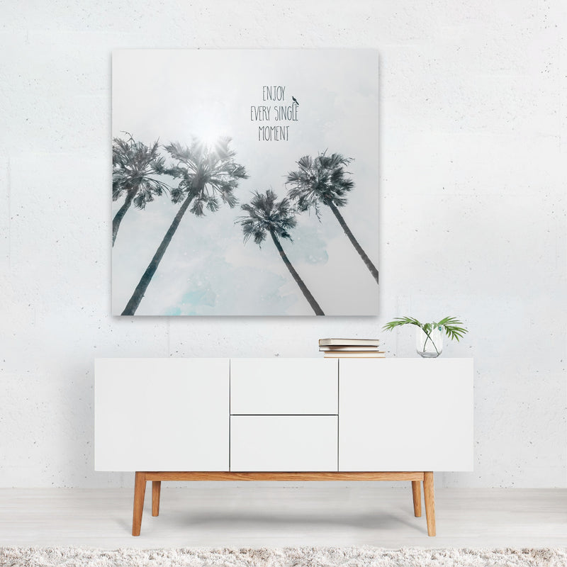 California Abstract Beach Canvas