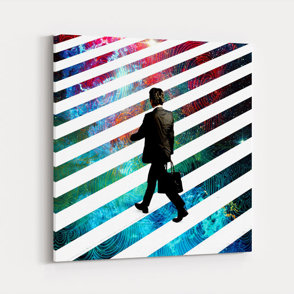 Alice In Wonderland Science Canvas