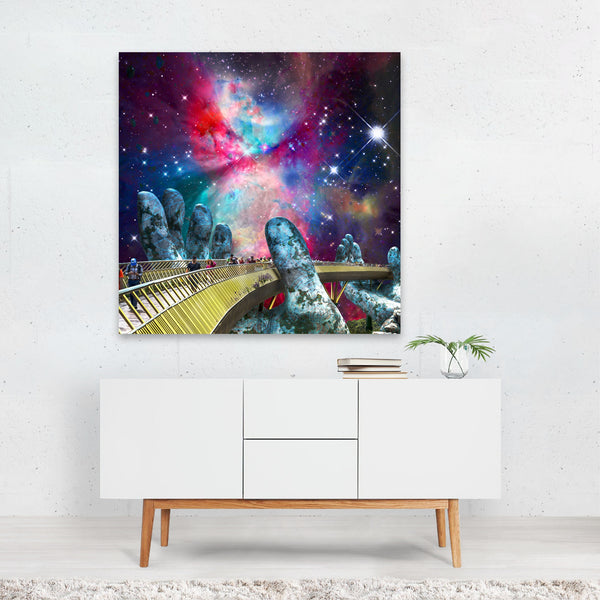 Science Space Astronomy Space Odyssey Canvas