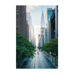 Midtown Manhattan Skyline NYC Art Print