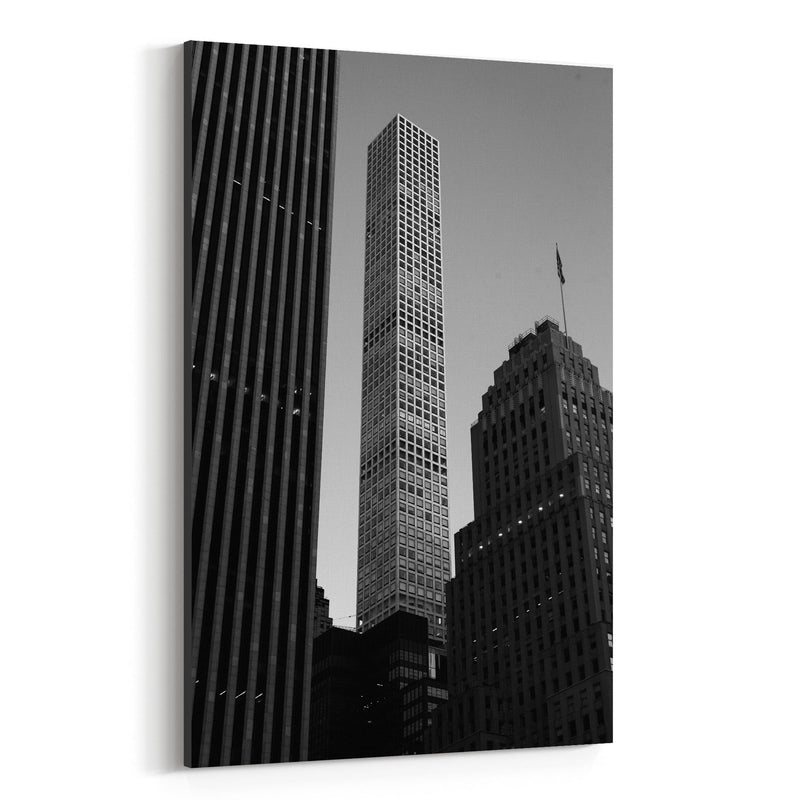 Modern Architecture Midtown NYC Canvas Art Print