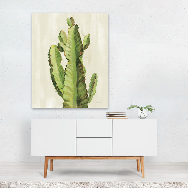 Floral Cactus Succulents Illustration Art Print