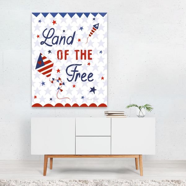 Holiday Motivational Fireworks Fire Art Print