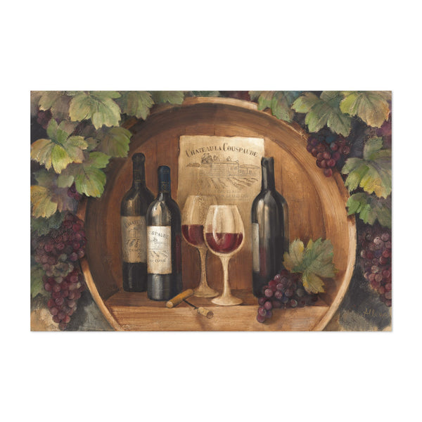 Alcohol Still Life Wine Illustration Art Print
