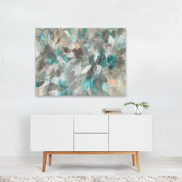 Watercolor Abstract Nature Painting Art Print