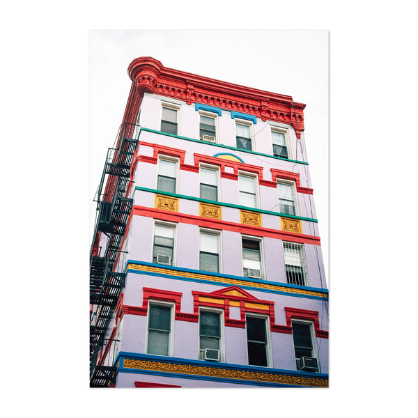 East Village New York City Urban Art Print