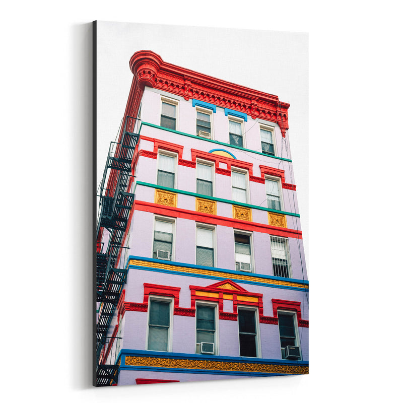 East Village New York City Urban Canvas Art Print